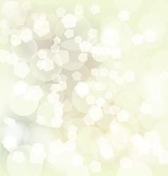 Christmas bokeh vector image vector image
