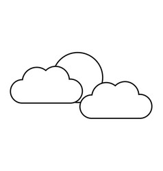 cloud computing information storage technology vector image