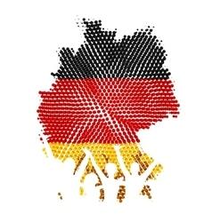 German Unity vector image