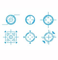 Target crosshair vector