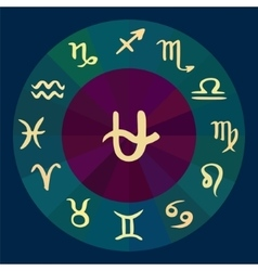 Ophiuchus 13th signs zodiac horoscope hand drawn vector