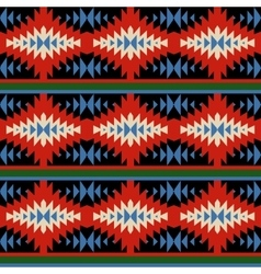 Bright seamless pattern with mexican ornaments vector