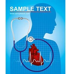 Medicine Heart vector image
