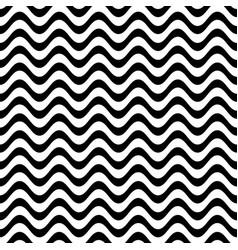 website seamless wavy line pattern vector image vector image