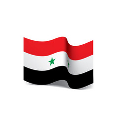 Syria flag vector