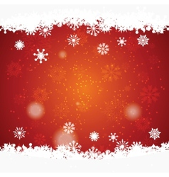 christmas background with space for text vector image
