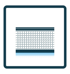 Tennis net icon vector