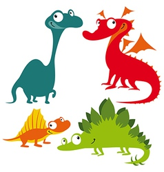 Dino animals vector