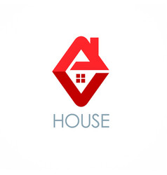 House roof logo vector