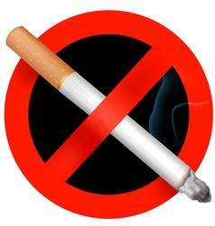 no smoking sign vector vector image