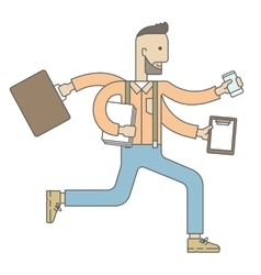 Worker with multitasking job vector