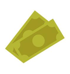 dollar money banknote currency cash icon vector image vector image