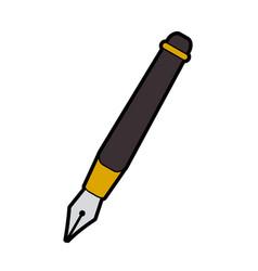 Fountain pen icon image vector