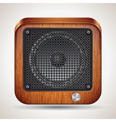 Loudspeaker icon vector