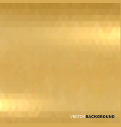 Shiny metallic gold texture blur background vector