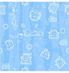background car vector image