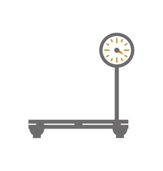 Weight icon measure instrument design vector