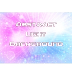 Abstract Pink and Blue Background vector image vector image