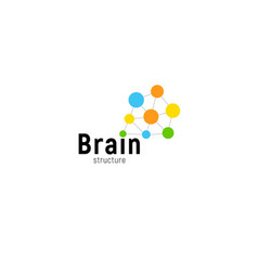 Brain storming business isolated logo vector