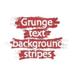 Grunge text background stripes red vector