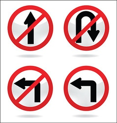 Traffic sign 5 vector