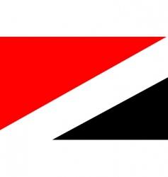 Sealand principality of flag vector image