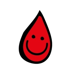blood icon image vector image