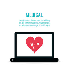 Medical technology health care vector