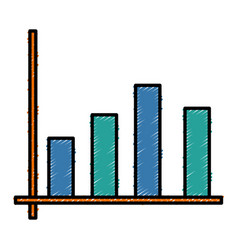 Bars stats graph vector