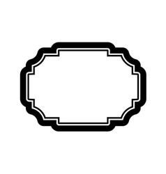 Black frame picture beautiful design simple vector