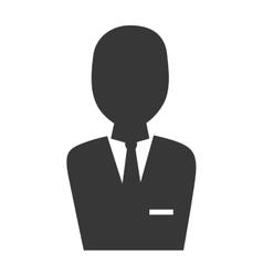business man suit vector image
