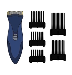 Hair clipper machine Color vector image