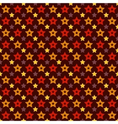Holiday triumph star shape seamless pattern tiling vector