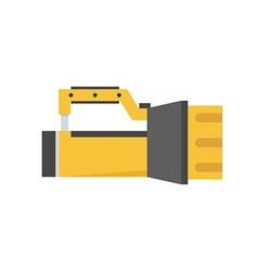 Scuba Diving Lamp Icon vector image vector image