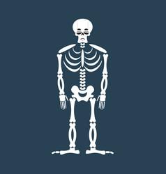 skeleton sad emoji skull emotion sadness human vector image