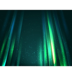 Sky lights background vector