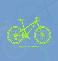 Sport-bike vector