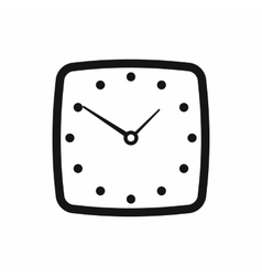 Watch icon simple style vector