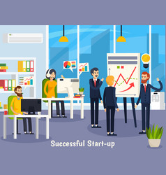 Successful startup orthogonal composition vector