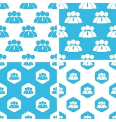 User group patterns set vector