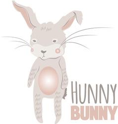 Hunny Bunny vector image vector image