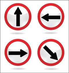 Traffic sign 6 vector