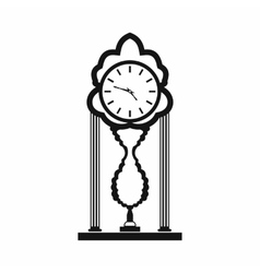 Watch icon simple style vector image