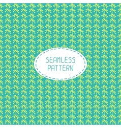 Seamless pattern of hand drawn flowers doodle vector