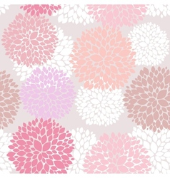 Cute unique floral pattern vector
