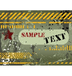 Army navy grunge background vector