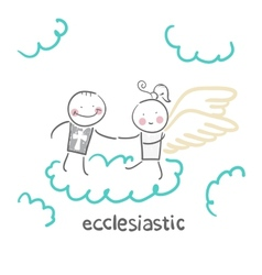 ecclesiastic vector image
