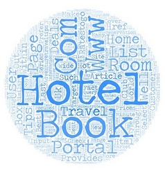 How you can book a room from ratestogo com text vector