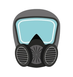 mask protection work icon vector image