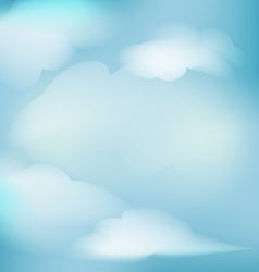 Background clouds for decoration vector
